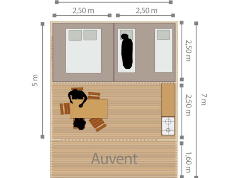 Lodge Tents - map
